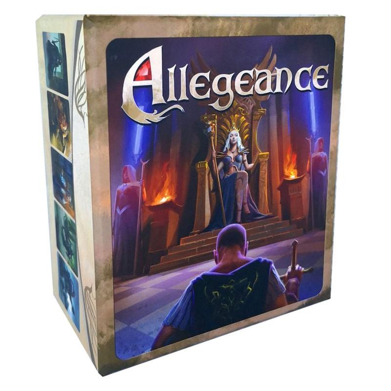 Boite du jeu Allégeance