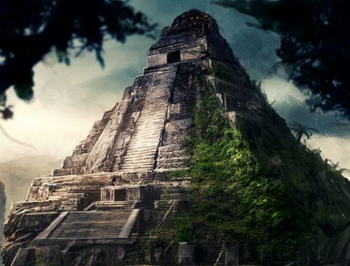 Temple maya - Assassin's creed III