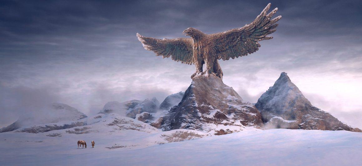 Les montagnes de l'Aigle