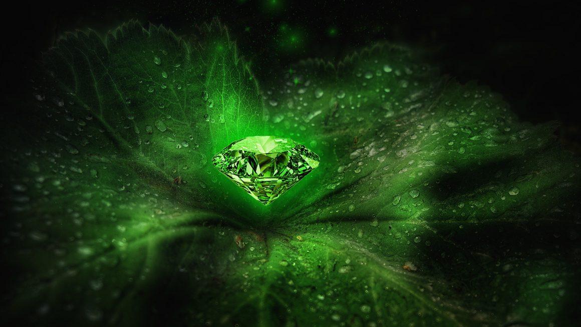 Le coeur d'émeraude
